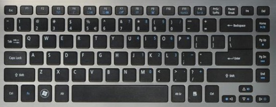 Acer Aspire M5-481 Laptop Keyboard Keys Replacement