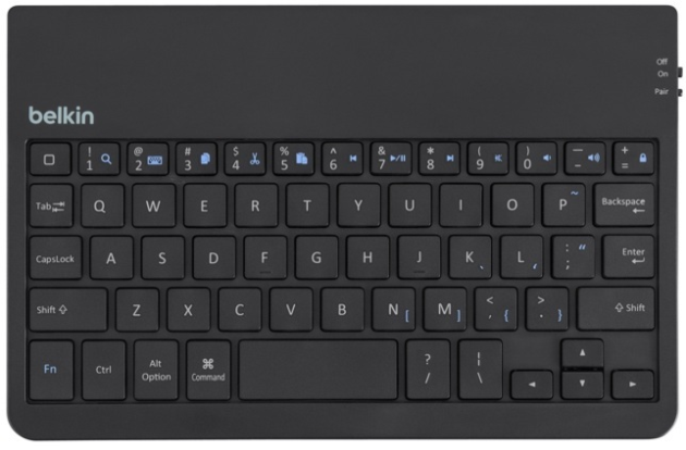 how to connect belkin keyboard to ipad